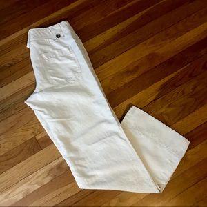 Banana Republic linen blend wide leg pants